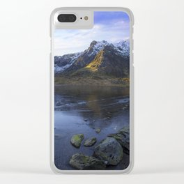 Frozen Lake Idwal Clear iPhone Case