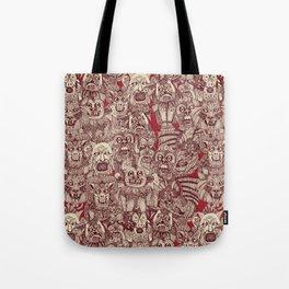 gargoyles red Tote Bag