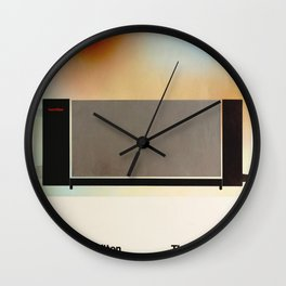 Richard Hamilton Exhibition poster 1970 Wall Clock