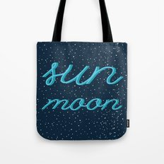 The Sun & the Moon Tote Bag
