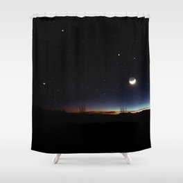 Road trip to Big Bend Shower Curtain