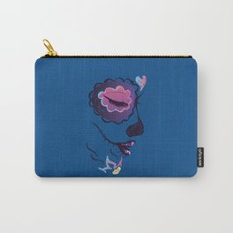 Side sugar skull make up Carry-All Pouch