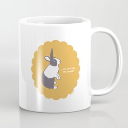 Dutch Rabbit Bunaloons Coffee Mug