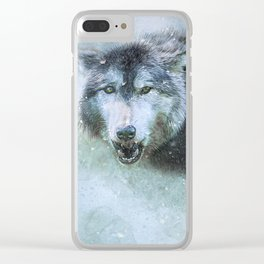 The Leader of the Pack Clear iPhone Case