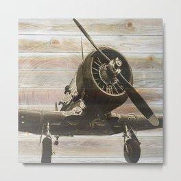 Old airplane 2 Metal Print