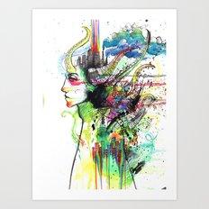 slack Art Print