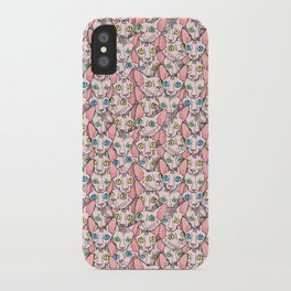 sphynx cats (naked cat) iPhone Case