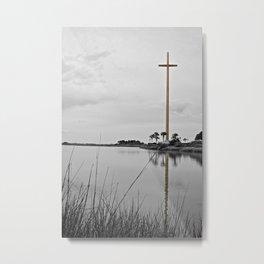 The Great Cross Metal Print