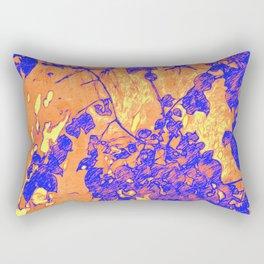 Leaf Shadows Rectangular Pillow