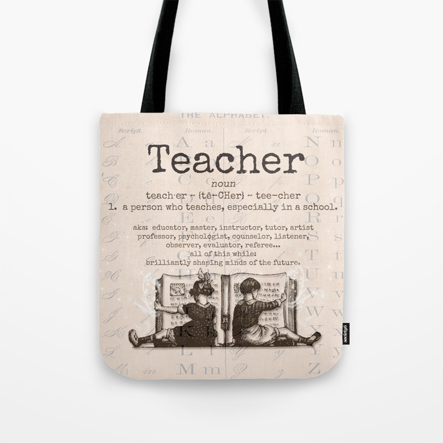 Teacher Tote Bag By Parisopera Society6