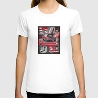 mustang T-shirts featuring 1966 Mustang  by Andrew Sliwinski