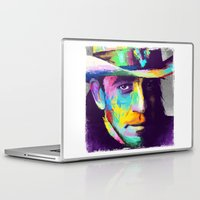 stevie nicks Laptop & iPad Skins featuring Stevie Ray Vaughan  by Jon Finlayson