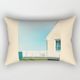 Cottage by the sea Rectangular Pillow