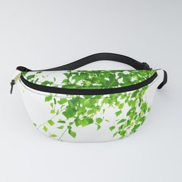 Green Leaves Delight #1 #tropical #decor #art #society6 Fanny Pack