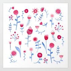 Hayfever Art Print
