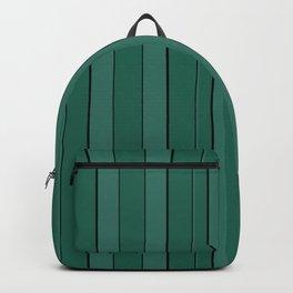 Teal stripes Backpack