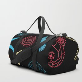 Seahorse Sea Shell Party Duffle Bag