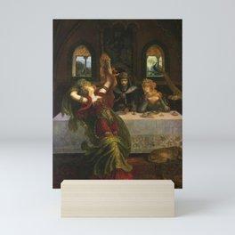 Armand Point - Dance Of the Seven Veils Mini Art Print