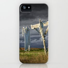 Monday Morning Wash on the Clothesline iPhone Case