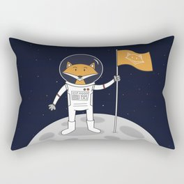 The Fox on the Moon Rectangular Pillow