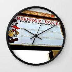Friendly Duck Wall Clock