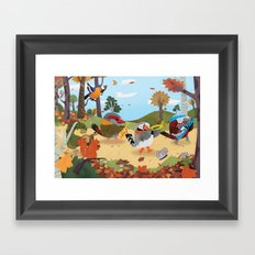 Bird Band Framed Art Print