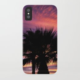 Palm Sunset - 7a iPhone Case