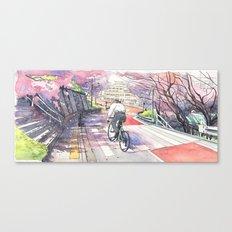 Bicycle Boy 01 Canvas Print