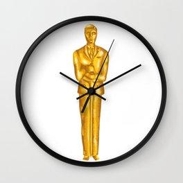 Alan Turing - Oscar Statue Wall Clock