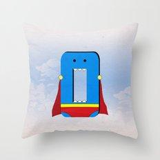 Zero the Hero Throw Pillow