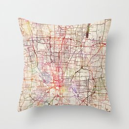 Columbus Throw Pillow