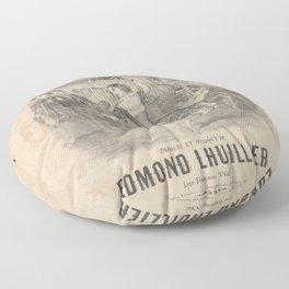 Lhuillier Edmond  Pepita la grenadine Floor Pillow