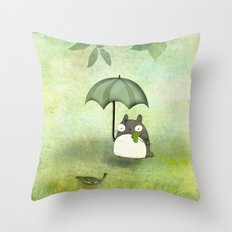 My friend from Japan Throw Pillow