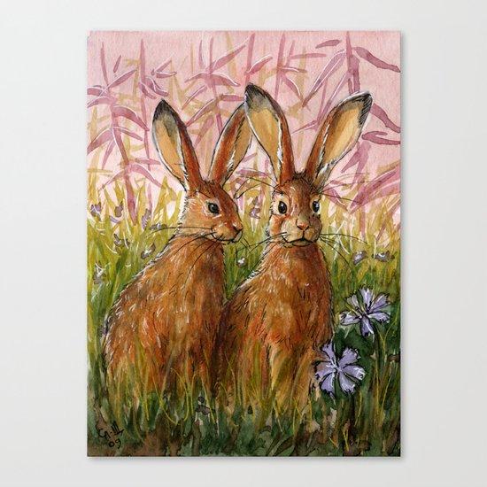 Happy Bunnies A0072 Canvas Print