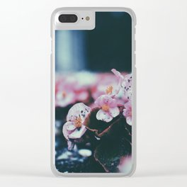 München Blumen Clear iPhone Case