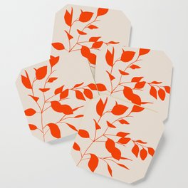 Red Leaves Coaster