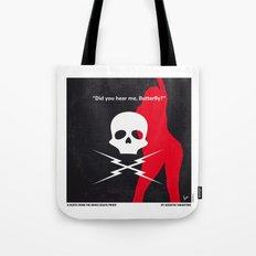 No018 My DeathProof minimal movie poster Tote Bag