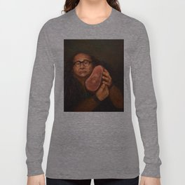 Danny DeVito with his beloved ham Langarmshirt