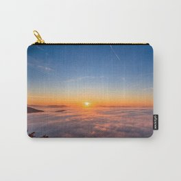 Sun peaking above clouds in the morning Carry-All Pouch