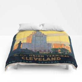 Vintage poster - Cleveland Comforters