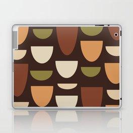 Brown & Orange Bowls Laptop & iPad Skin