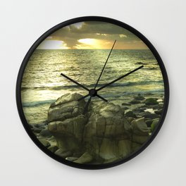 Porth Nanven, Cot Valley 1, Cornwall, England, United Kingdom Wall Clock