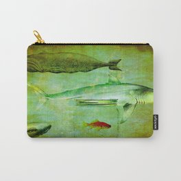 Hostile environment for a goldfish Carry-All Pouch