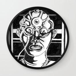 Mr. K - Mugshot Wall Clock