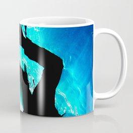 Watercolor Snorkler Coffee Mug