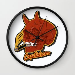 The Devil you know Wall Clock