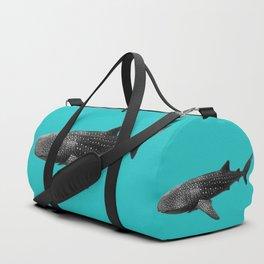 Big Fish, B & W Duffle Bag