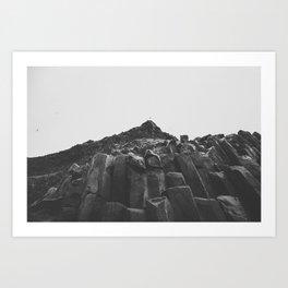 Reynisdrangar Rocks Art Print