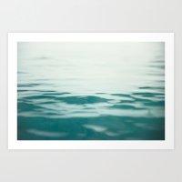 Soft Sea Art Print