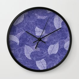 Let the Leaves Fall #07 Wall Clock